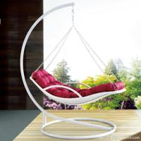 Quality Premium Indoor Outdoor Furniture PE Rattan White Day Bed Style Swing Hanging Chair for sale