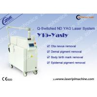 Buy cheap Q - Switch Nd Yag Laser Tattoo Removal Machine for Pigmentation Removal product