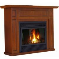 Quality Electronic Ignition Direct Vent Gas Fireplace For Heating NG / LPG Fuel for sale