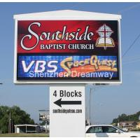 China 2R1G1B P16 Church Advertising LED Sign Display Front Service Hot in USA on sale
