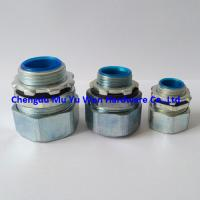 Quality 1/2 liquid tight zinc die casting straight conduit fittings with G male thread for sale