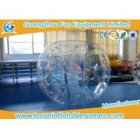Buy cheap 1.2m PVC / TPU Inflatable Bubble Ball Inflatable Knocker Football For Games product