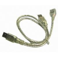 China Transparent usb data transfer cable 1.5m length on sale