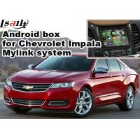 Quality Chevrolet Impala Android Navigation Box , Wifi Mirror Link real time Navigation for sale