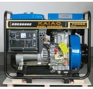 China 6KW Diesel Generator Set  model KDE8600E KAIAO brand on sale