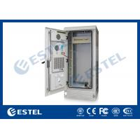 Quality Professional PDU IP55 Outdoor Telecom Cabinet Grey Color 1800X900X900 mm for sale