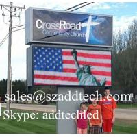 China Front Accessible LED Display Sign, Can Installed Near School, Church on sale