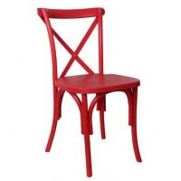 Quality Resin Plastic China Crossback Chair for Restaurant,Hotel,Wedding Event for sale