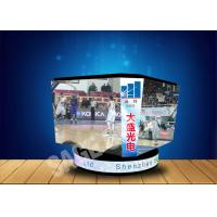 Quality Hung LED Cube Display P4 4mm High Refresh Rate For Stadium Center for sale