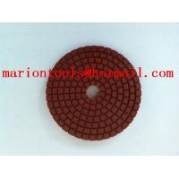 diamond flixiable polishing pads for polishing stone