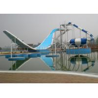 Quality Wave Pool Fiberglass Water Slide / Water Park Playground Equipment for sale