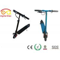Buy cheap Lightest Stand On Kids Electric Scooter Foldable With LED Light Control Unit product