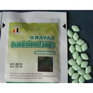 Anavar Pill Red