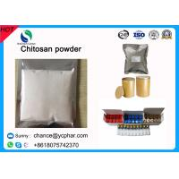 China Factory Supply Cosmetic Grade Chitosan High Quallity White Crystal Chitosan Powder on sale