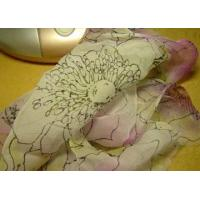 Quality Printed Silk Crepe Georgette Fabric for sale
