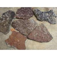 China Brown Lava Stone on sale