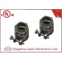 Quality Flexible Conduit Straight Squeeze Connector Electrical Zinc Die Casting UL Approvals for sale