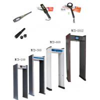 China Lightweight Archway Body metal detector For Subway , 4.3 LCD display on sale
