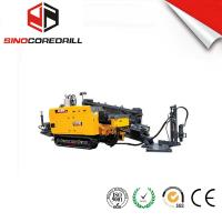 Quality Thrust-pullback force 180KN horizontal drilling drilling rig with 97KW power engine for sale