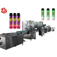 Buy cheap Aerosol Spray Filling Machine for Insecticide Pesticide from wholesalers