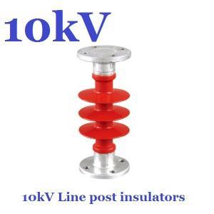 Quality ANSI 10 kV / 11 kV Post Insulator Creepage Distance 380mm For Substation for sale