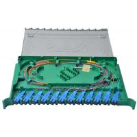Buy cheap 12 Core ODF Optical fiber Splice Tray available SC FC LC E2000 adaptor product