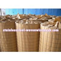 Quality Light Weight Stainless Steel Welded Wire Mesh 3 X 3 For Fencing Long Service Life for sale