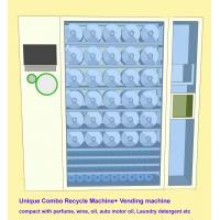 Quality Commercial Combo Vending Machine Recycle Empty Bottles & Sell Perfume , Motor Oil for sale