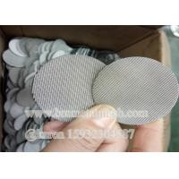 Circle extruder screen mesh filter for foaming machine diameter 45mm
