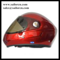 High quality Full face Paragliding helmet GD-F Red colour By fiber glass material