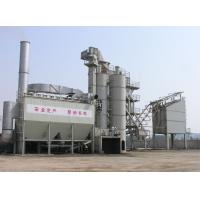95% screening efficiency Asphalt drum mix plant 0.6 stere air storage tank support mixing tower