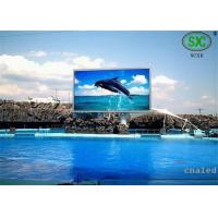 Quality Waterproof Outdoor Full Color LED Display Board P10 1R1G1B for sale