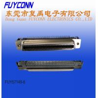 Quality 64 Pin Female PCB Right Angle Low profile RJ21 Connector with Spring Latch for sale