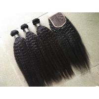 Quality Pure Peruvian Virgin Hair With No Mixer No Chemical , 10 Inch - 30 Inch Length for sale