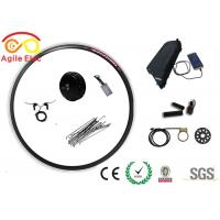 Buy cheap IP 65 48V 500W Gearless Electric Bike Wheel Motor Kit With Lithium Battery product