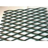 Buy cheap anti glare steel stretched mesh wire fencing expanded metal lath product