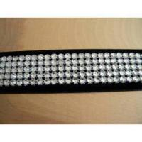 Buy gloden hotfix DMC rhinestone mesh trimming at wholesale prices