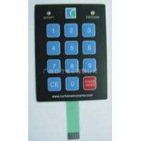 Hard coated Dome LED membrane switches