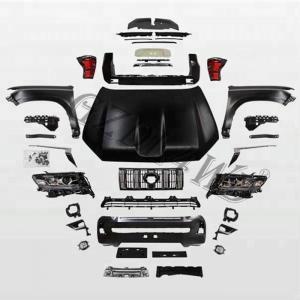 Quality Toyota Land Cruiser Prado 2010-2017 Upgrade To 2018+ Repair Upgrade Whole Body Kit for sale