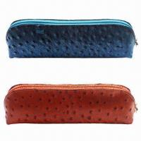Quality Pen Case, Made of Genuine Leather, Blue for sale