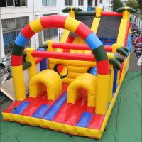 Quality Inflatable Bouncy Castle Bounce House Oxford Cloth Material Customized Color for sale