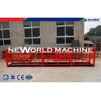 Quality Red ZLP Type Hot dip galvanizing Construction Hoist Elevator, Temporary suspended platform for sale
