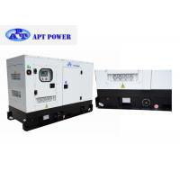 Buy cheap 60kW Prime Silent Diesel Generator with Three Phase Output Socket , Diesel PoweredGenerator product