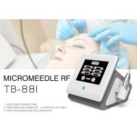 China Fractional Microneedle RF Skin Tightening Wrinkle Removal Machine For Face / Body on sale