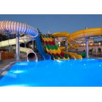 Quality 400 Riders / H Capacity Water Park Pool Slides Splinter Works Slide Collection for sale