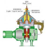 China Lower Noise Disc Stack Oil Centrifuge Separator used For Liquid-Solid Separation on sale