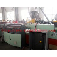 Quality wood and plastic composite solid foamed board extrusion line thickness 25mm-40mm , hard surface for sale