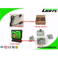 Quality Rechargeable Cordless Mining Cap Lights USB Charging Flame Retardant Material for sale