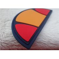 Buy cheap Multiple Color Semicircle Silicon Rubber Patches Of Garment/Bag from wholesalers