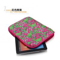 Quality Eco-friendly Cute Neoprene iPad Sleeve / Tablet PC Case for 10 Inch for sale